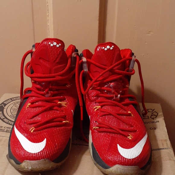 lebron 12 elite red